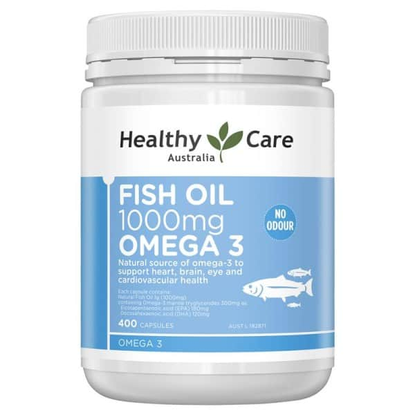 Healthy Care Fish Oil 1000mg Omega-3