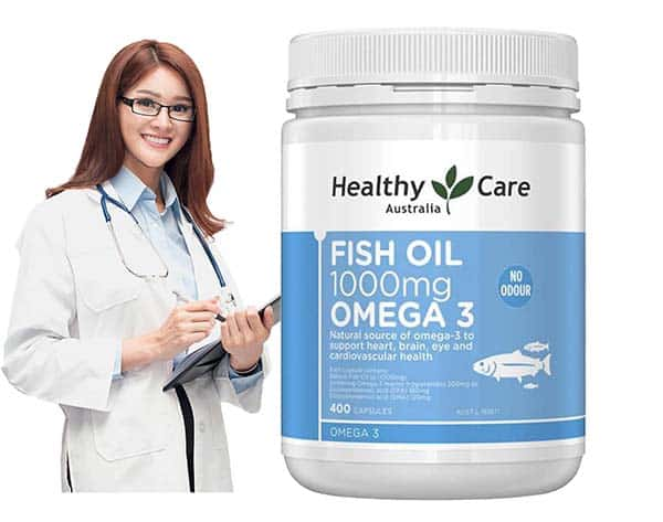 fishoil 1000 omega3 healthy care